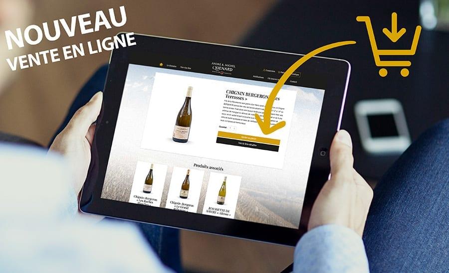 vente en ligne vin de savoie
